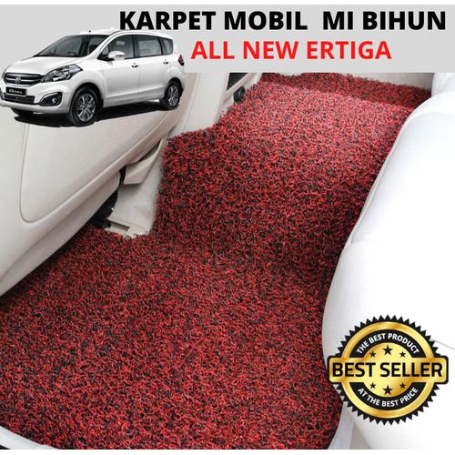 Foto Produk KARPET MOBIL / KESET MOBIL PVC ALL NEW ERTIGA (FULL BAGASI) - 1 WARNA - Hitam dari Houseof Carpet