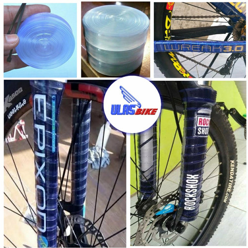 Foto Produk Karet / Plastik Pelindung Frame & Fork Sepeda dari ULASBike