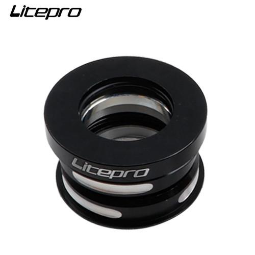 Foto Produk Headset Litepro Bearing 44 mm Folding Bike Ultralight – 4 Warna - Black dari Maxxiebike