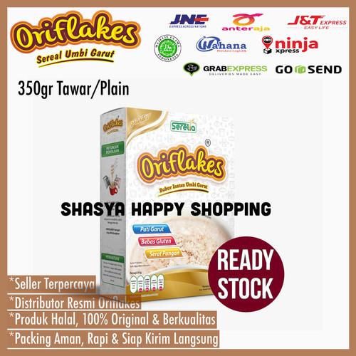Foto Produk Oriflakes Original Sereal umbi garut Asam lambung gerd maag gastro - Tawar dari Shasya Happy Shopping