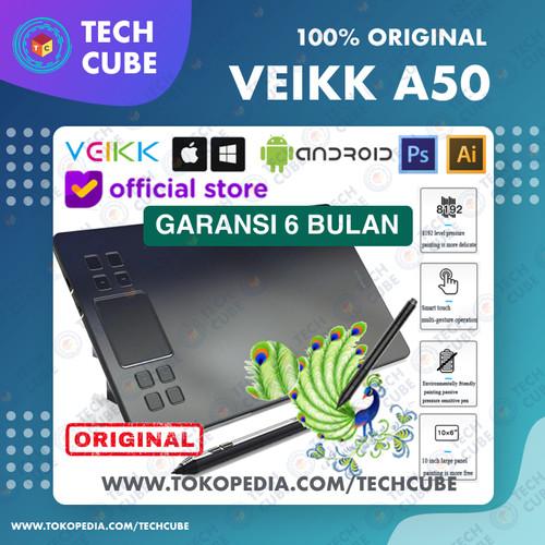 Foto Produk VEIKK A50 Digital Graphic Drawing Pen Tablet Alt A30 A15 PRO H950P - Tablet dari Tech Cube