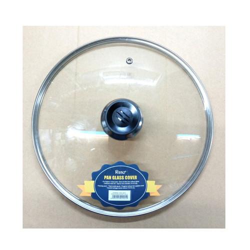 Foto Produk Pan Glass Cover 26 cm | Tutup Panci Kaca Tutup Wajan 26cm dari rantang online