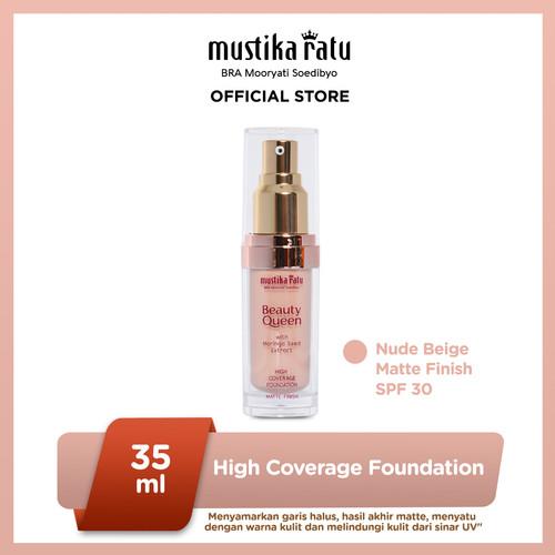 Foto Produk Mustika Ratu MATTE N. BEIGE Kosmetik Wajah Foundation Coverage 30 SPF dari Mustika Ratu