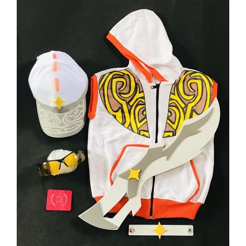 Foto Produk Kostum set boboiboy solar - 3-4 tahun dari diyanaksa shop