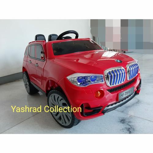 Foto Produk Mainan Anak Mobil Aki Anak Anak BMW Luxury Sport X5 PMB M-7988 dari Yashrad Collection