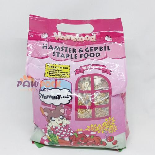 Foto Produk makanan Hamster Hamsfood 1kg dari Paw Pack Petstore