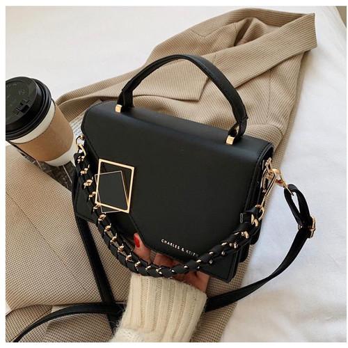 Foto Produk Funatic Charlcs & Kcith Tas Selempang Fashion Wanita Import Premium - Hitam dari funatic official