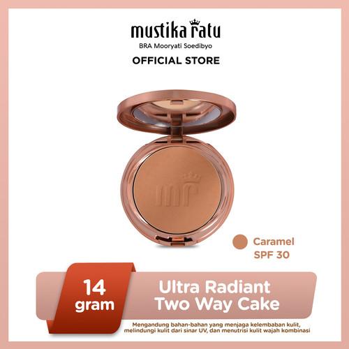 Foto Produk Mustika Ratu Warna Caramel Kosmetik Wajah Bedak Two Way Cake SPF 30 dari Mustika Ratu