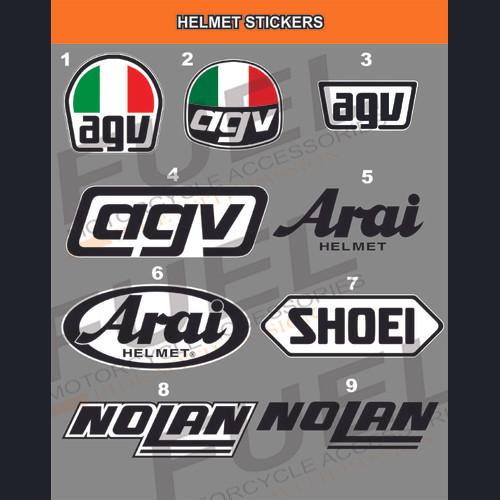Foto Produk Sticker Body Helm Repaint Repair Modifikasi ink kyt arai shoei zeus dari Fuel
