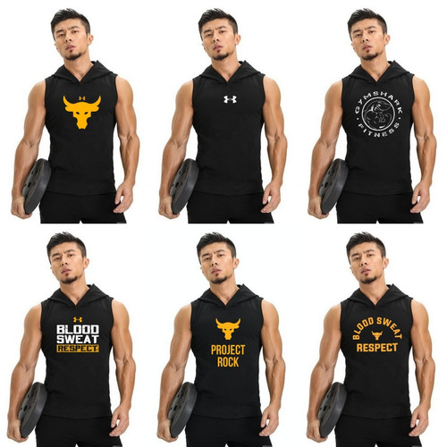 Foto Produk Tanktop gym olahraga pria hoodie lowcut Nikeeeee - mix dari Beyourself