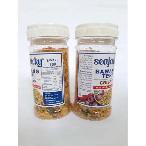 Foto Produk SeaJacky Bawang Teri Crispy dari Christa Tuna Official