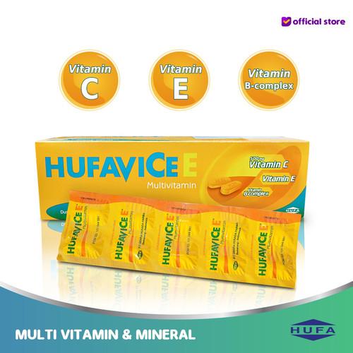 Foto Produk Hufavicee - Multivitamin, Daya Tahan Tubuh dan Vitamin C - 1 strip dari HUFA Official Store