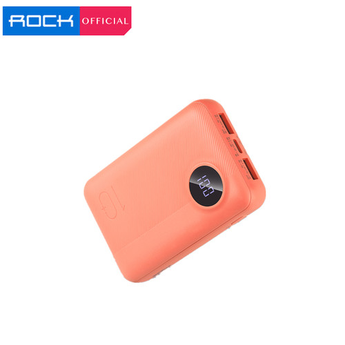 Foto Produk ROCK P75 Power Bank 10000mAh Unique Design Mini Camera Model - Biru Muda dari ROCK Official Store