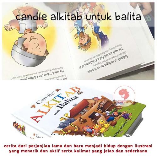 Foto Produk Zoetoys Candle Alkitab Untuk Balita   Buku Edukasi Anak dari ZOETOYS Official Store