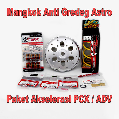 Foto Produk Mangkok Anti Gredeg Dan Akselerasi ADV 150 PCX 150 LOKAL Upgrade CVT - PCX 150 LOKAL dari astrocustom