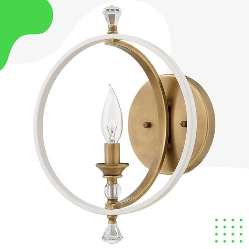Foto Produk Lampu Dinding Waverly 1 Light 10 inch Warm White dari CH Concept-Indonesia