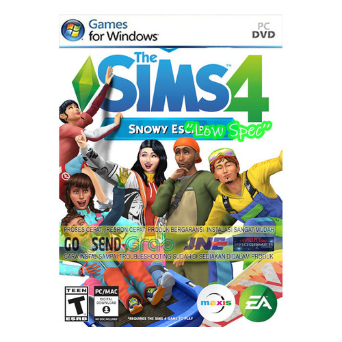 Foto Produk THE SIMS 4 + ALL EXPANTIONS CD DVD GAME PC GAMING PC GAMING LAPTOP dari WEPRO-SHOP