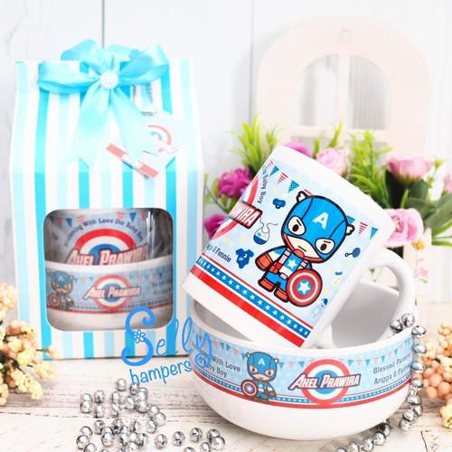 Foto Produk Souvenir baby one month-hamper -mangkok-mug benedict-PESANAN KHUSUS dari Selly Hampers