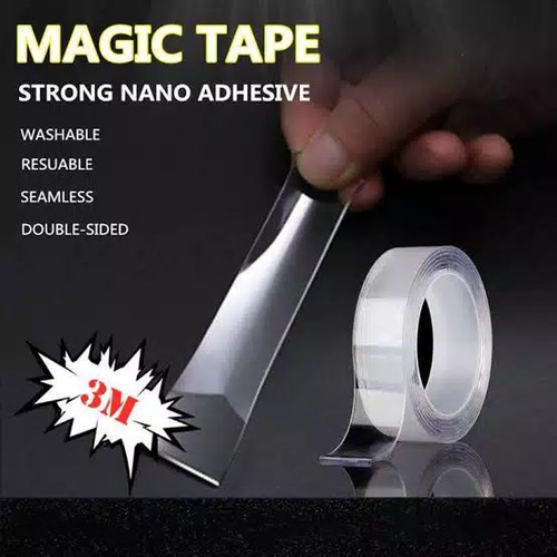 Foto Produk NANO Magic Tape - Magic Tape - Double Tap Nano 3M ( 18mm ) dari PINZY Official Store