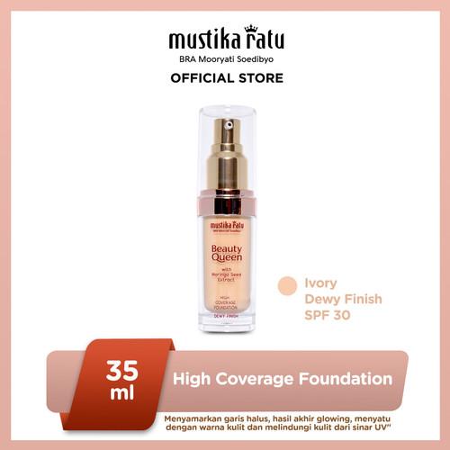 Foto Produk Mustika Ratu Ivory Kosmetik Wajah Foundation Dewy Finish SPF 30 dari Mustika Ratu
