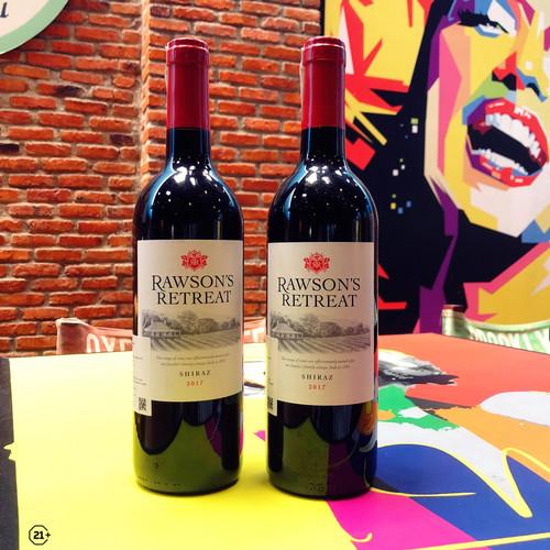 Foto Produk Red Wine Rawsons Retreat Shiraz dari Waroeng Wine GS