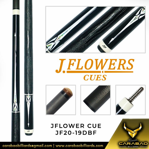 Foto Produk JFlower Cue JF20-19DBF dari Carabao Billiard Indo