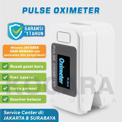 Foto Produk Oximeter Oxymeter Fingertip Pulse - Ukur heartrate kadar oksigen darah - Hanya Oximeter dari Kogara