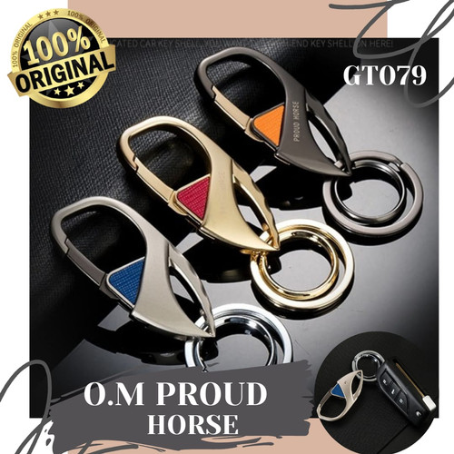 Foto Produk Original O.M Proud Horse / Gantungan Kunci Mobil Motor Pinggang GT079 dari Rising.collection