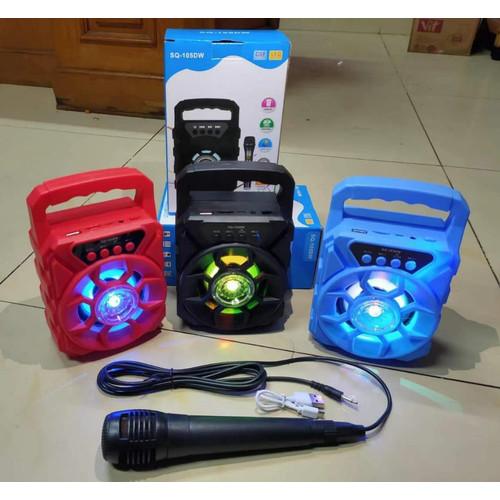 Foto Produk Speaker MH-02BT Speaker Bluetooth Box Plus Mic dari Cen store acc