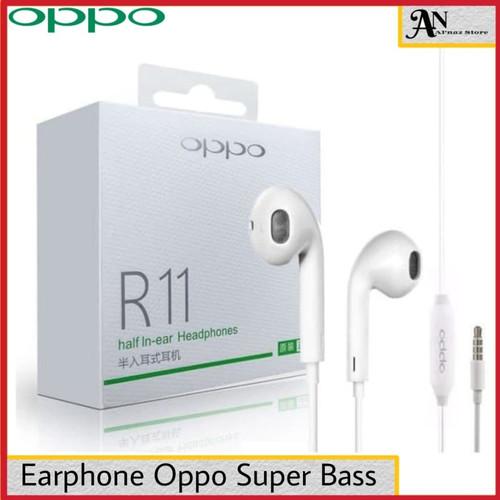 Foto Produk Headset Earphone Oppo R11 ORIGINAL 100% dari galeri bintang cell