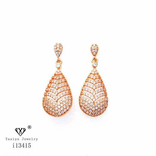 Foto Produk Anting Tusuk Permata Perhiasan Lapis Emas 18 k Yaxiya Jewelry 710 dari YAXIYA JEWELRY
