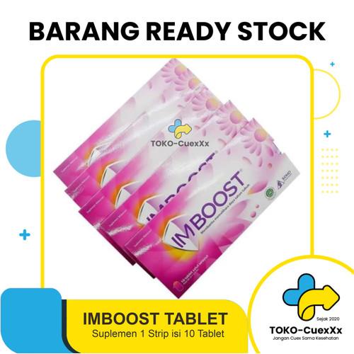 Foto Produk Imboost tablet daya tahan Tubuh - 1 strip isi10 tablet dari TOKO-CuexXx