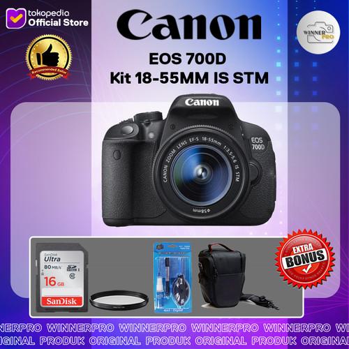 Foto Produk Canon EOS 700D Kit 18-55MM IS STM / Canon 700D / EOS 700D dari Winner Pro