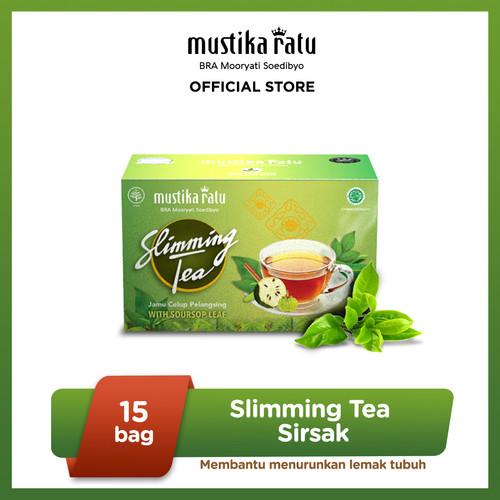 Foto Produk MUSTIKA RATU Slimming Tea Herbal Pelangsing Badan Rasa Sirsak 15 Bags dari Mustika Ratu