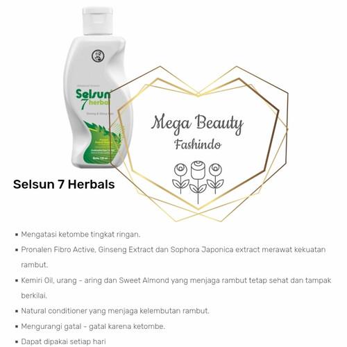 Foto Produk Selsun Shampoo 7 Herbals - Tujuh - Seven Herbal 120ML 120 ML dari Mega Beauty Fashindo