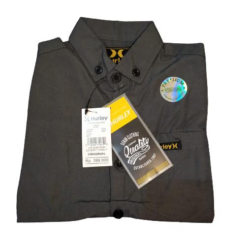 Foto Produk Baju Kemeja Anak Laki Laki Polos 1-13 Tahun Lengan Panjang - Abu Tua, S dari Owl_Store666
