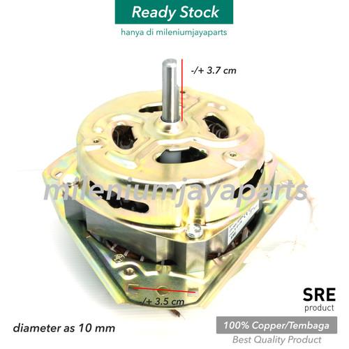 Foto Produk Dinamo TEMBAGA Mesin Cuci Pengering Spin kaki 3 Sanyo Aqua atau Umum dari Milenium Jaya Parts