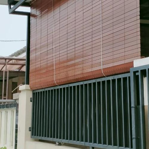 Foto Produk jual tirai kayu penahan hujan dan panas dari Tirai ollshop
