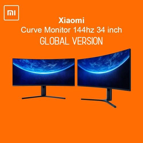 Foto Produk XIAOMI Mi Curved Gaming Monitor 34 inch 144Hz 3440 * 1440 dari Dua Hari Jakarta