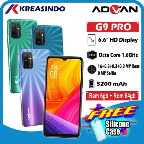Foto Produk ADVAN G9Pro G 9Pro G9 Pro 6/64 Ram 6GB Internal 64GB Garansi Resmi - Hijau dari Kreasindo Online