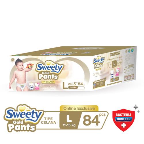 Foto Produk Sweety Gold Pants L 3x28s dari Sweety Indonesia