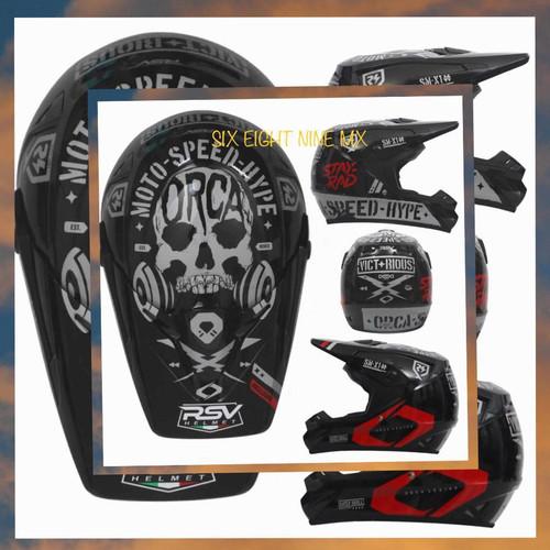 Foto Produk Helm RSV ORCA supermoto atau helm motocross RSV ORCA dari SIX EIGHT NINE MX