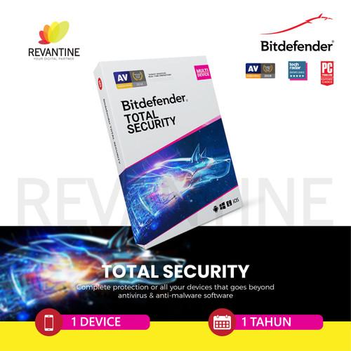 Foto Produk Bitdefender Total Security 1 Device 1 Year dari Revantine