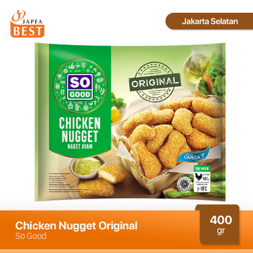 Foto Produk Nugget Ayam So Good 400 gr dari Japfa Best Jakarta