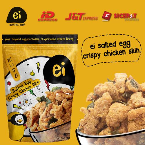 Foto Produk ei salted egg Crispy Chicken Skin (80gr) dari Ei its Salted Egg