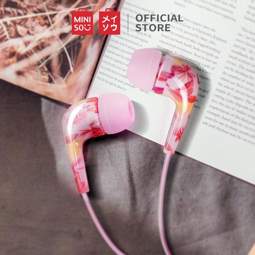 Foto Produk MINISO Earphone Earbud Headphone In-Ear Metal Stereo Suara Jernih - Colorful-rose dari Miniso Indonesia