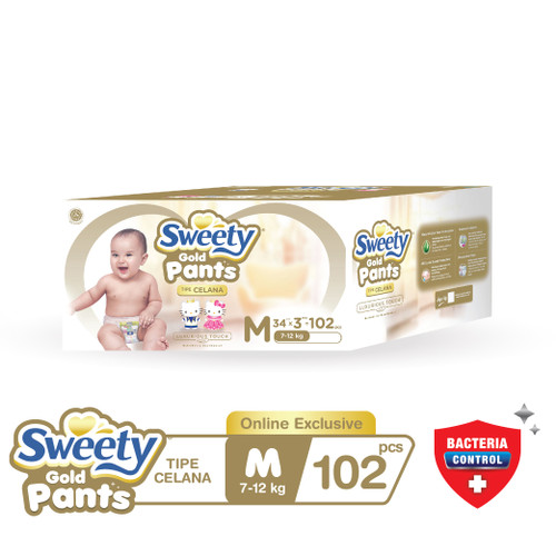 Foto Produk Sweety Gold Pants M 3x34s dari Sweety Indonesia