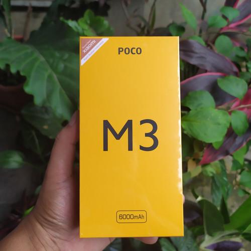 Foto Produk Xiaomi Poco m3 4/64 dan 6/128 Garansi Resmi - Hitam, 4Gb 64Gb dari Wakikiw shop