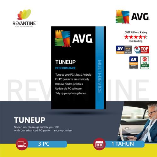 Foto Produk AVG PC TuneUp Latest Version 3 Device 1 Year dari Revantine