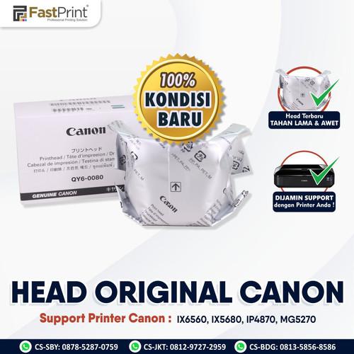 Foto Produk Fast Print Head Printer Original Canon IX6560, IX5680, IP4870, MG5270 dari Fast Print Indonesia